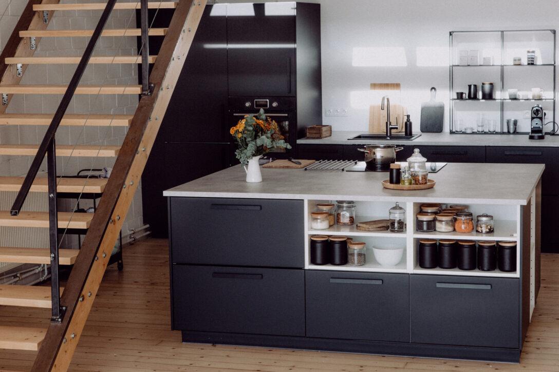 Large Size of Freistehende Küchen Ikea Kche Mit Freistehendem Kchenblock Regal Küche Wohnzimmer Freistehende Küchen