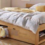 Bett 120x200 Mit Bettkasten Betten Weiß Matratze Und Lattenrost Wohnzimmer Stauraumbett Funktionsbett 120x200