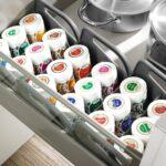Gewürze Schubladeneinsatz Gewrzaufbewahrung So Lagern Sie Ihre Gewrze Richtig Küche Wohnzimmer Gewürze Schubladeneinsatz