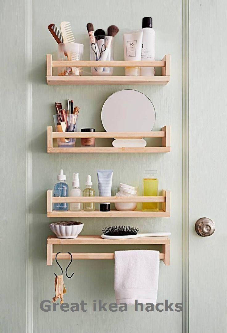 Full Size of Ikea Hack In 2020 Mit Bildern Kleines Bad Dekorieren Betten Bei Aufbewahrungssystem Küche Miniküche Bett Aufbewahrung Modulküche Kosten 160x200 Wohnzimmer Ikea Hacks Aufbewahrung