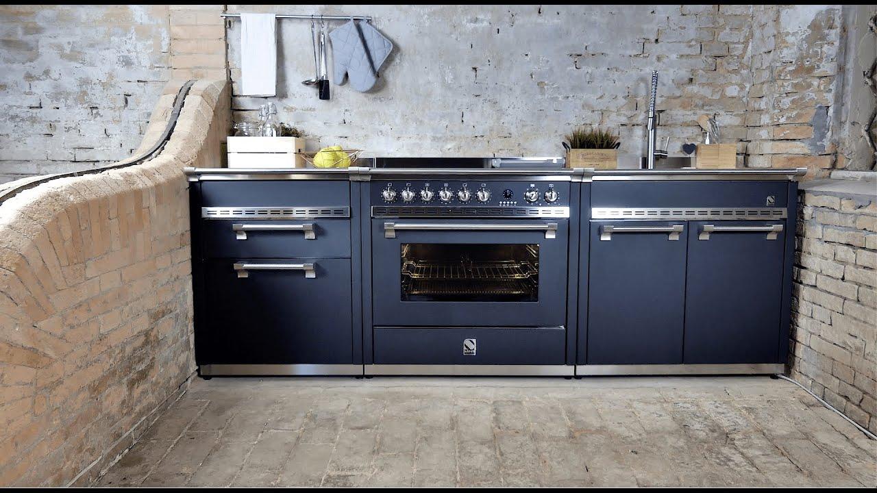 Full Size of Modulküchen Steel Cucine Ascot Standherde Und Modulkchen Range Cooker And Wohnzimmer Modulküchen