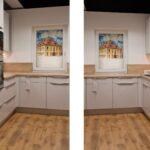 Schmolkes Mbel Center Kche Auf 8 Qm Küche Hochglanz Grau Was Kostet Eine Neue Landhausküche Gebraucht Kleiner Esstisch Weiß Industrielook Einbau Mülleimer Wohnzimmer Küche Kleiner Raum