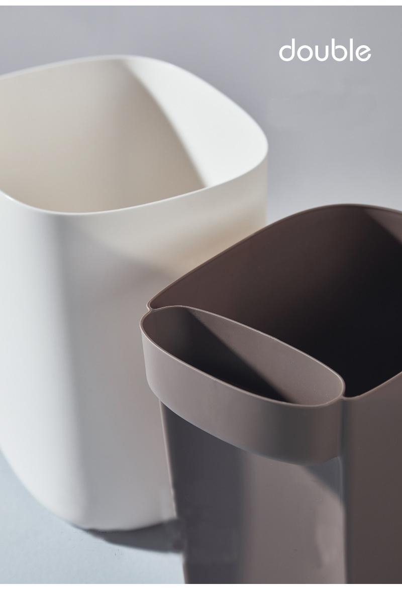 Full Size of Doppel Mülleimer Kreative Nordic Home Mlleimer Küche Doppelblock Einbau Wohnzimmer Doppel Mülleimer