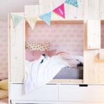 Baldachin Kinderbett Diy Rausfallschutz Bett Kinderbetten Ikea Wohnzimmer Kinderbett Diy