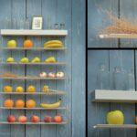 Obst Aufbewahrung Wand Fruitwall Obstregal Zum Aufhngen I Hngekorb Obstschale Wandbilder Schlafzimmer Küche Wohnzimmer Glaswand Dusche Wandfliesen Bad Wohnzimmer Obst Aufbewahrung Wand
