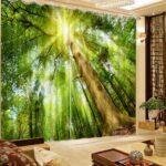 Wohnzimmer Natur Foto Vorhnge Wald 3d Vorhang Teppiche Tisch Sofa Kleines Board Kamin Vorhänge Poster Fürs Fototapeten Led Tapeten Wohnzimmer Bilder Wohnzimmer Natur