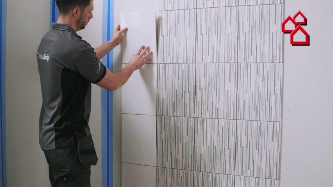 Large Size of Neue Art Fliesen Zu Verlegen Mit Cristalgrip Von Tiles Fliesenspiegel Küche Glas Selber Machen Wohnzimmer Fliesenspiegel Verkleiden