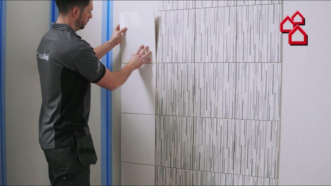 Full Size of Neue Art Fliesen Zu Verlegen Mit Cristalgrip Von Tiles Fliesenspiegel Küche Glas Selber Machen Wohnzimmer Fliesenspiegel Verkleiden
