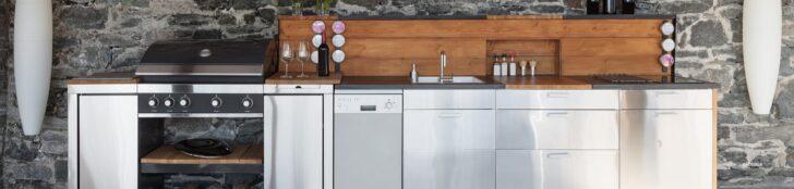 Medium Size of Mobile Outdoorküche Trendprojekt Outdoorkche 7 Tipps Rund Um Planung Küche Wohnzimmer Mobile Outdoorküche