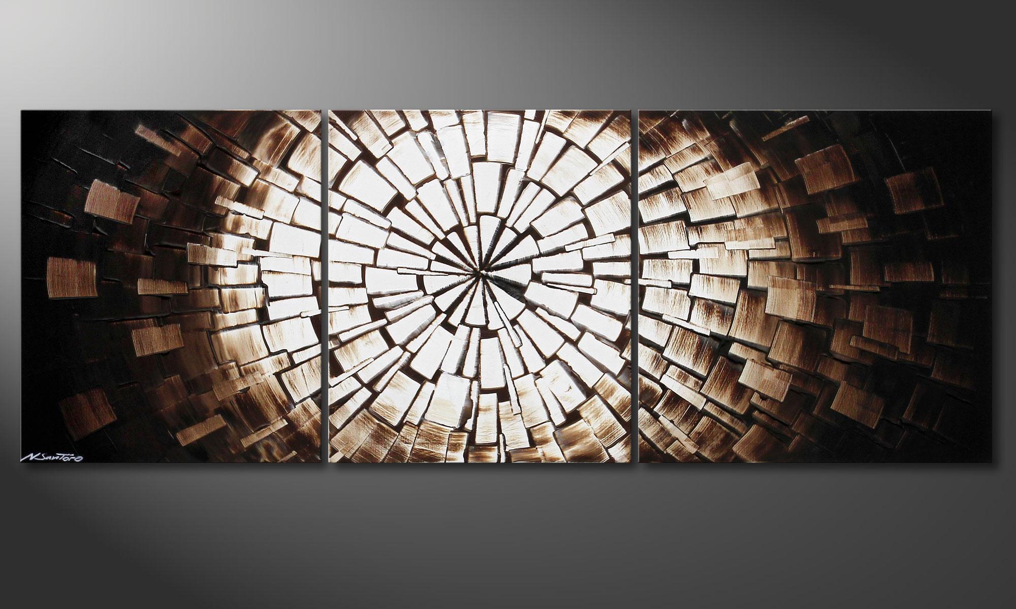 Full Size of Wandbilder Wohnzimmer Modern Xxl Das Moderne Bild Center Of Babylon 190x70cm Deckenleuchte Indirekte Beleuchtung Stehlampen Liege Led Landhausküche Vorhang Wohnzimmer Wandbilder Wohnzimmer Modern Xxl