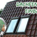 Dachfenster Einbauen Wohnzimmer Dachfenster Einbauen Renovieren Mit Elmar Youtube Velux Fenster Bodengleiche Dusche Rolladen Nachträglich Kosten Neue