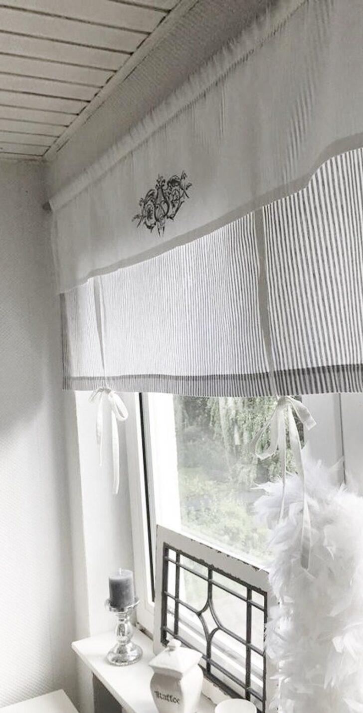 Landhausstil Küchenfenster Gardinen Raffrollo Gardine Shabby Gestreift Grau O Beige W Streifen Betten Bad Sofa Für Wohnzimmer Schlafzimmer Fenster Küche Wohnzimmer Landhausstil Küchenfenster Gardinen