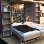 Schrankbett 180x200 Ikea Mittelmeier Variante Mit Verschiebbaren Regalen Schlafsofa Liegefläche Miniküche Modernes Bett Betten Bei Günstige Ebay Günstig Wohnzimmer Schrankbett 180x200 Ikea
