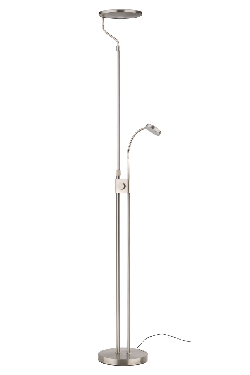 Full Size of Stehlampe Led Dimmbar Deckenfluter Amazon Mit Leselampe Design Ikea Leseleuchte Stehlampen Messing Fernbedienung 3000 Lumen Stehleuchte Farbwechsel Smd Sofa Wohnzimmer Stehlampe Led Dimmbar