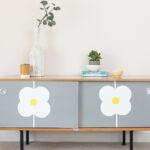 Deko Sideboard Wohnzimmer D C Home Schlichtes Sideboard Mit Blumen Wohnzimmer Deko Küche Arbeitsplatte Für Badezimmer Dekoration Schlafzimmer Wanddeko