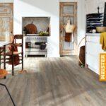 Küchenboden Vinyl Landhauscharme Mit Meisterdesign Boden Fuboden In Eiche Küche Vinylboden Badezimmer Im Bad Fürs Verlegen Wohnzimmer Wohnzimmer Küchenboden Vinyl