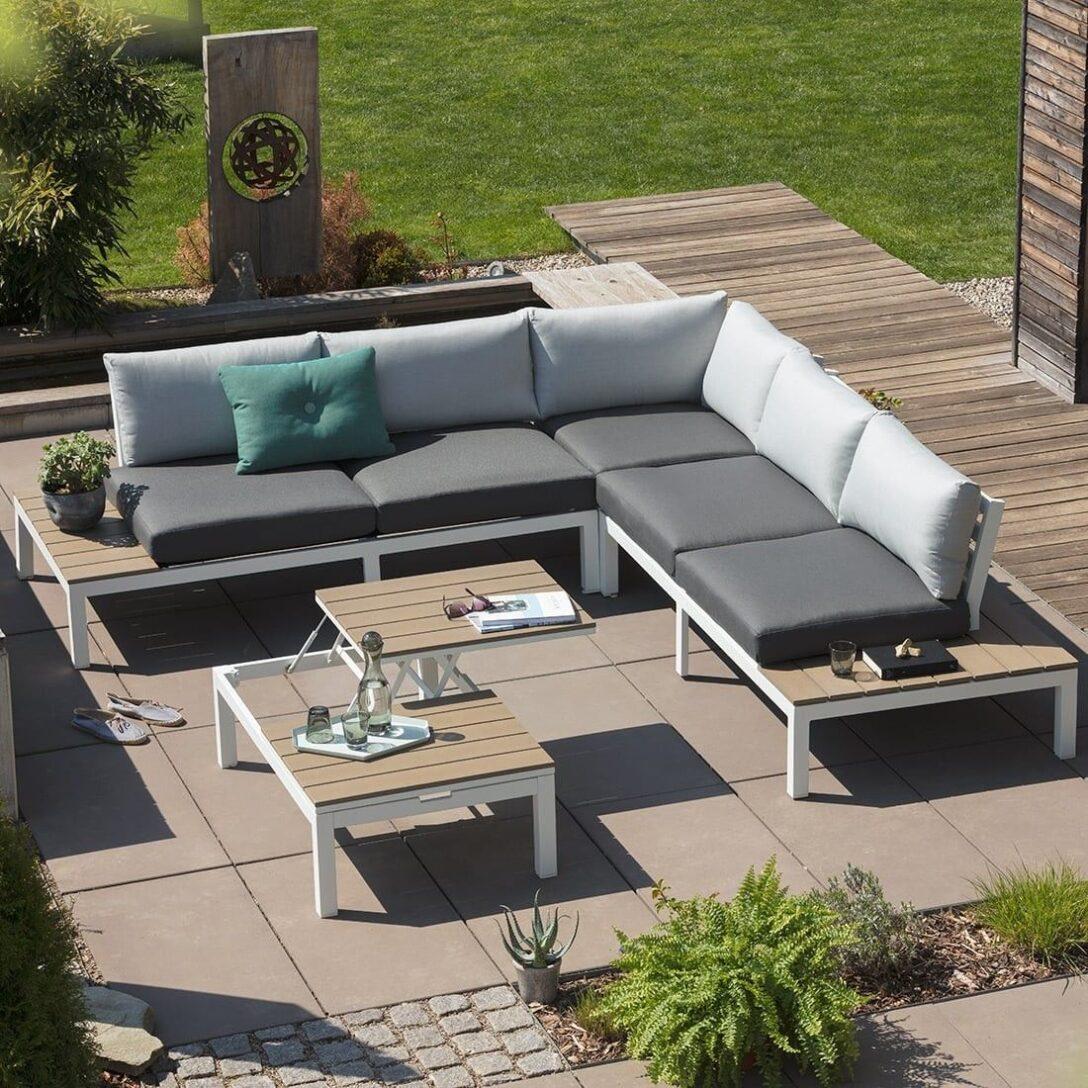 Large Size of Outliv Loungemöbel Hamilton Loungeecke 4 Teilig Aluminium Polywood In 2020 Garten Günstig Holz Wohnzimmer Outliv Loungemöbel