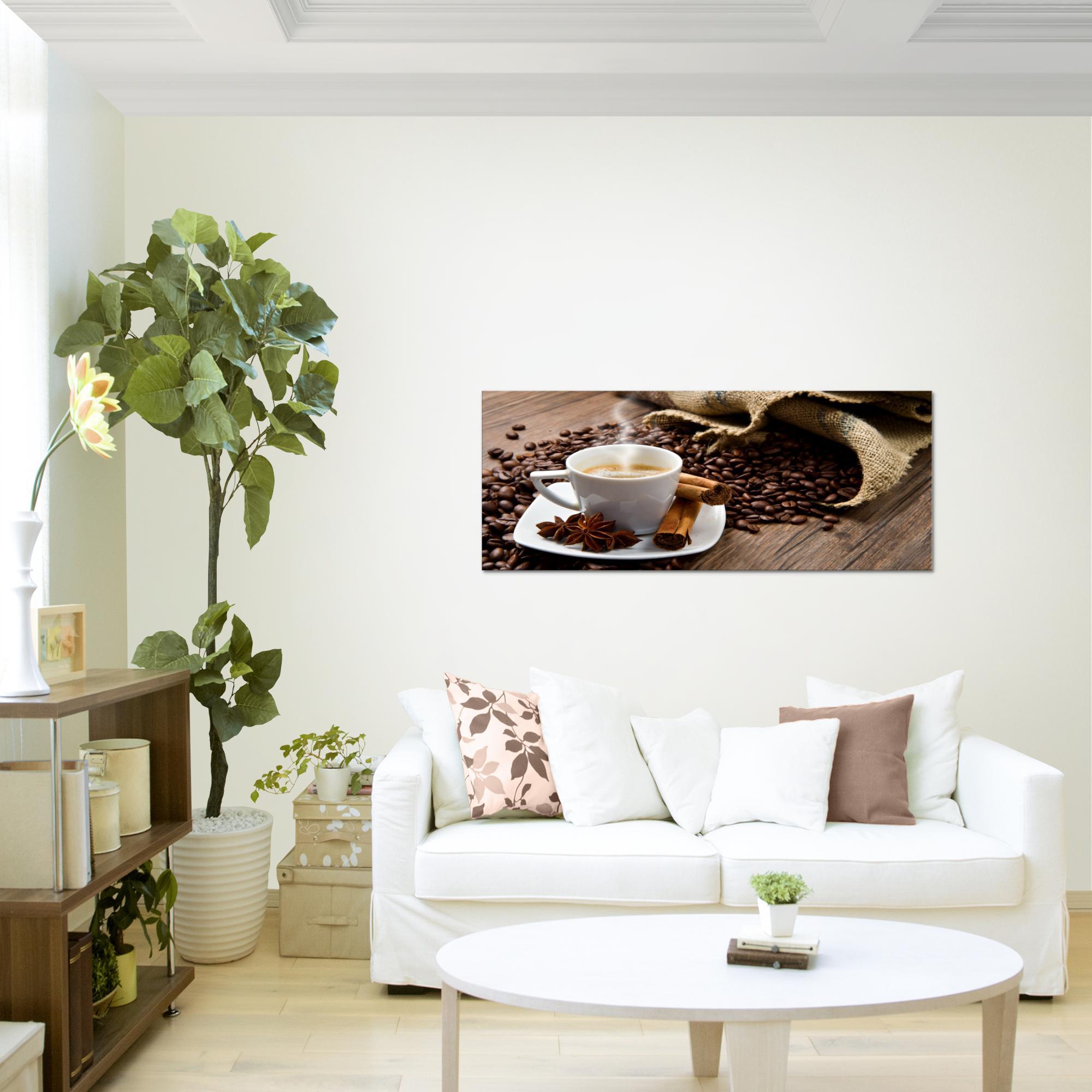 Full Size of Tapete Küche Kaffee Kche Bild Kunstdruck Auf Vlies Leinwand Xxl Dekoration Grau Hochglanz Modern Weiße Arbeitsschuhe Selber Planen Wasserhahn Vorhänge Wohnzimmer Tapete Küche Kaffee