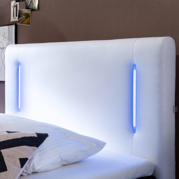 Medium Size of Bett 120x200 Mit Led Beleuchtung Boxspringbett Wei H2 Bettkasten Cm Ausziehbett Küche Kaufen Elektrogeräten Kopfteile Für Betten Weiß 160x200 Wohnzimmer Bett 120x200 Mit Led Beleuchtung