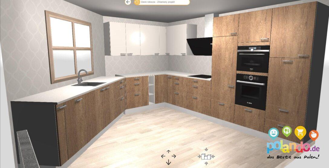 Large Size of Polnische Modulkchen Nach Ma Kompakt Individuell Konfigurierbar Wohnzimmer Modulküchen