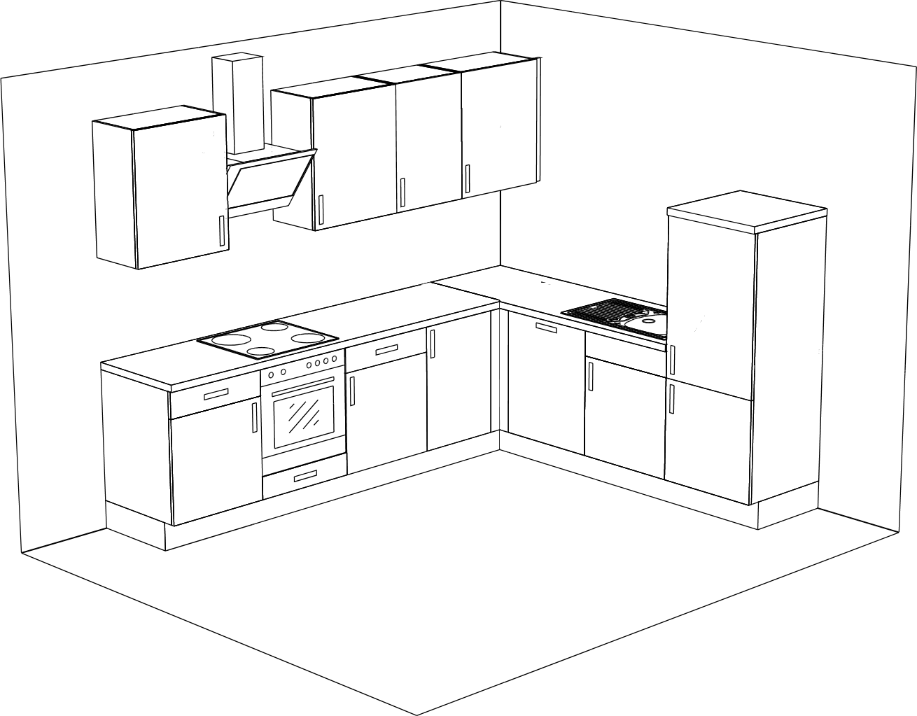 Full Size of Miele Küche Komplettküche Wohnzimmer Miele Komplettküche