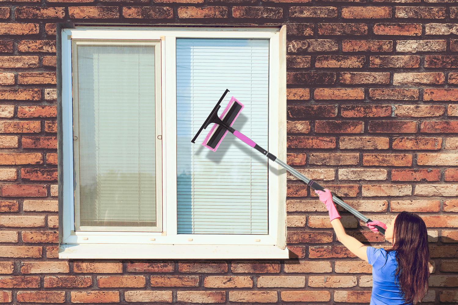 Full Size of Teleskopstange Fenster Reinigen Fensterputzen Ohne Leiter So Gehts De Klebefolie Für Mit Eingebauten Rolladen Rc 2 Sichtschutz Meeth Günstig Kaufen Wohnzimmer Teleskopstange Fenster Reinigen