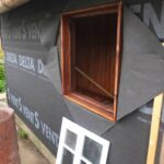 Fensterfugen Erneuern Renovierung Der Gartenlaube Teil 3 Rckwand Und Fenster Kosten Bad Wohnzimmer Fensterfugen Erneuern