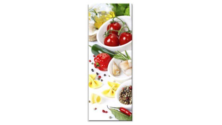 Medium Size of Küchen Glasbilder Glasbild Bella Italia I Bad Regal Küche Wohnzimmer Küchen Glasbilder