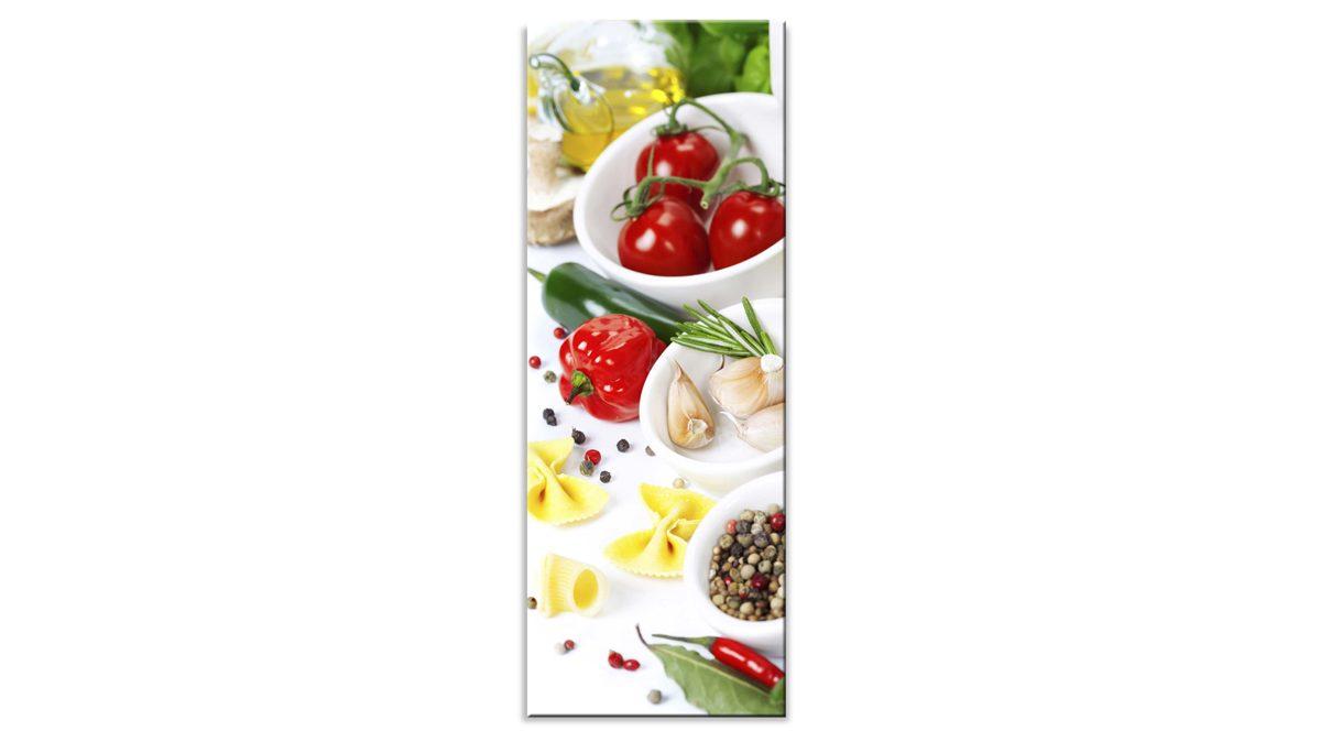 Full Size of Küchen Glasbilder Glasbild Bella Italia I Bad Regal Küche Wohnzimmer Küchen Glasbilder