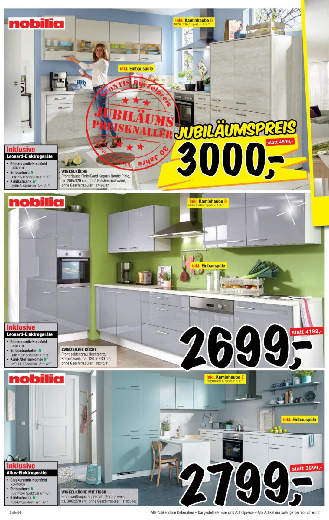 Large Size of Sconto Küchen Angebot Vom 25 02 2020 Kupinode Regal Wohnzimmer Sconto Küchen