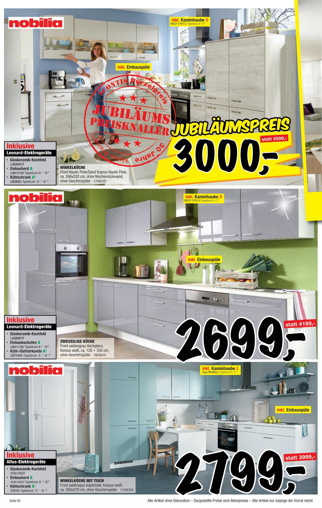 Full Size of Sconto Küchen Angebot Vom 25 02 2020 Kupinode Regal Wohnzimmer Sconto Küchen