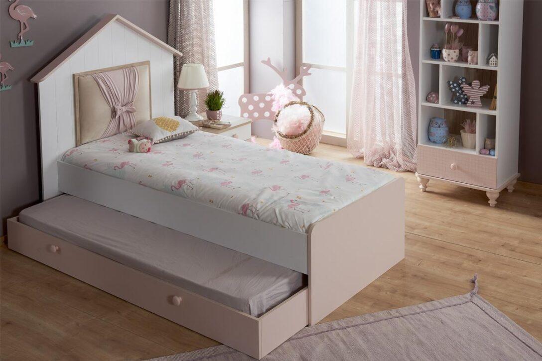 Large Size of Kinderbett Mädchen 90x200 Bett Weiß Mit Schubladen Lattenrost Bettkasten Und Matratze Betten Weißes Kiefer Wohnzimmer Kinderbett Mädchen 90x200
