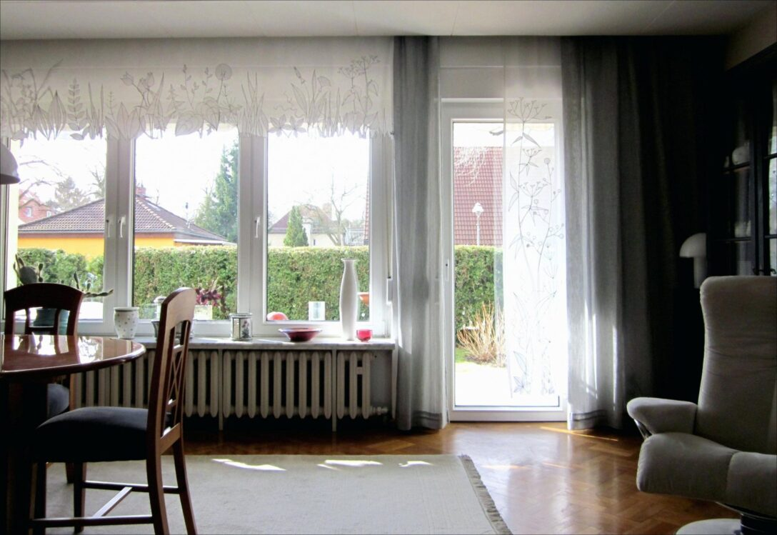 Large Size of Scheibengardinen Balkontür Küche Wohnzimmer Scheibengardinen Balkontür