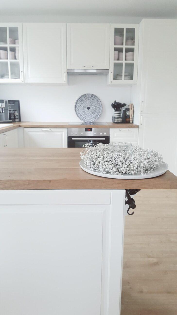 Medium Size of Offene Küche Ikea Hier Mal Ein Blick In Meine Kche Ikeawhit Musterküche Hochglanz Offenes Regal Weiß Landhausstil Mit Tresen Küchen Lüftung Sitzecke Wohnzimmer Offene Küche Ikea