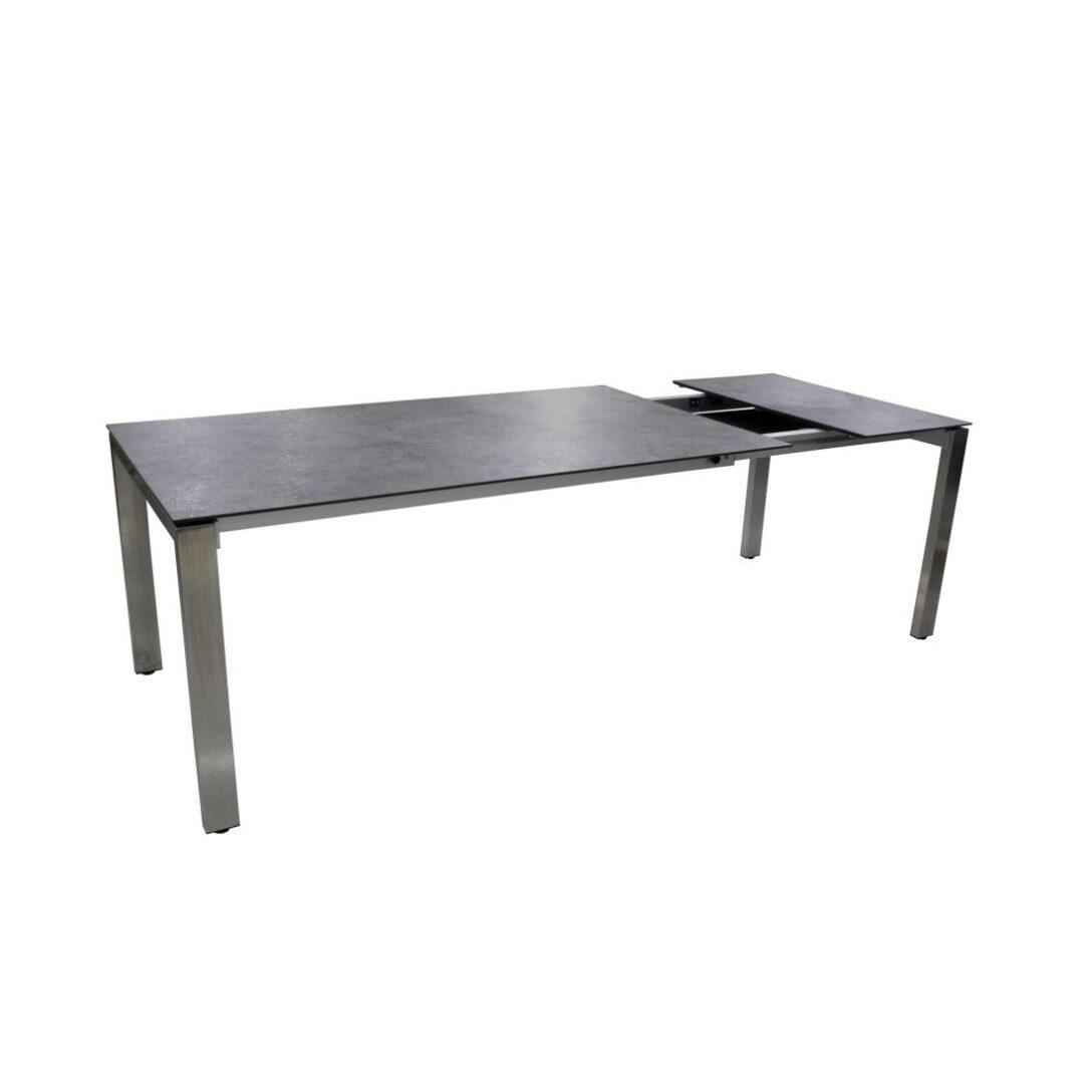 Large Size of Gartentisch Ausziehbar Aluminium Polywood Tisch 160 Alu 200/250x95cm Grau Sofa Esstisch Weiß Massiv Esstische Massivholz Rund Glas Ausziehbarer Runder Bett Wohnzimmer Gartentisch Ausziehbar Polywood