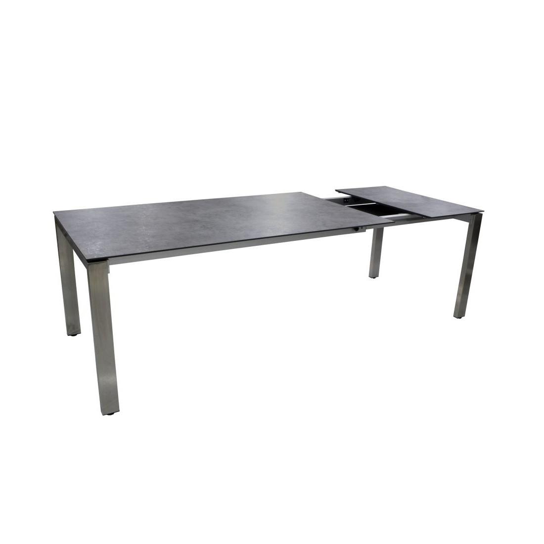 Full Size of Gartentisch Ausziehbar Aluminium Polywood Tisch 160 Alu 200/250x95cm Grau Sofa Esstisch Weiß Massiv Esstische Massivholz Rund Glas Ausziehbarer Runder Bett Wohnzimmer Gartentisch Ausziehbar Polywood
