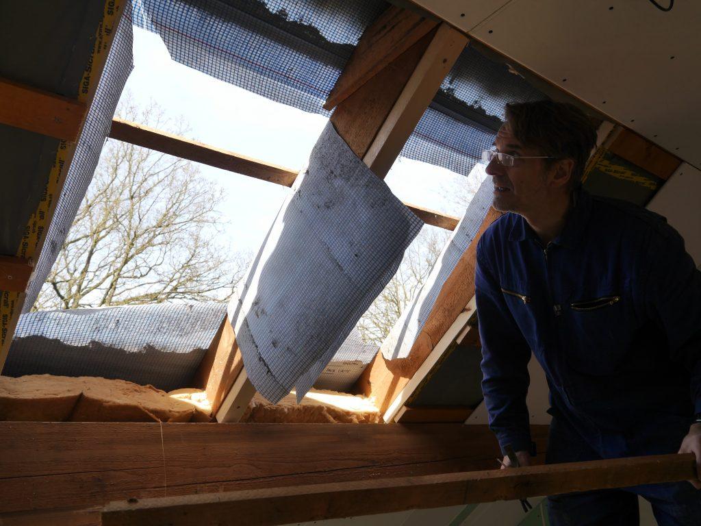 Full Size of Dachfenster Einbauen Love The Process Oder Wir Fangen Die Bodengleiche Dusche Velux Fenster Neue Nachträglich Kosten Rolladen Wohnzimmer Dachfenster Einbauen