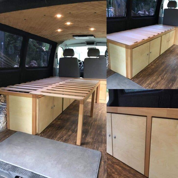 Medium Size of Ausziehbett Camper Bett Mit Wohnzimmer Ausziehbett Camper