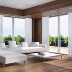 Raffrollo Küchenfenster Wohnzimmer Gardinen Fr Groe Fensterfronten Tipps Auswahl Raffrollo Küche