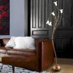 Moderne Stehlampe Wohnzimmer American Style Stehleuchte Warm Und Persnliche Persnlichkeit Deckenleuchte Gardinen Für Vorhänge Tisch Led Großes Bild Tapete Wohnzimmer Moderne Stehlampe Wohnzimmer