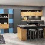 Abfallbehälter Küche Holz Modern Granitplatten Scheibengardinen Wasserhahn Wandanschluss Beistelltisch Läufer Einbauküche Ohne Kühlschrank Kurzzeitmesser Wohnzimmer Küche Arbeitsplatte Anthrazit