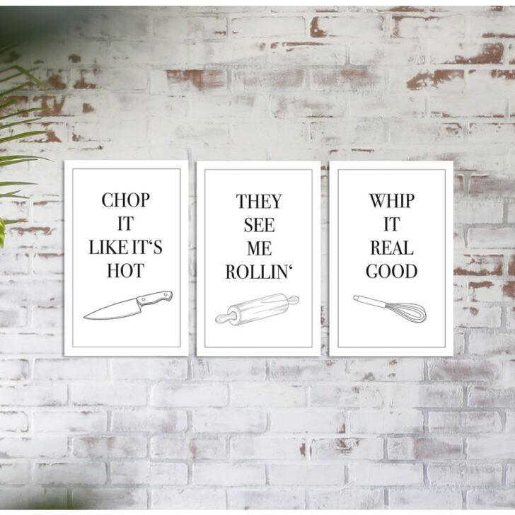 Medium Size of Real Küchen Kchen Songs Poster 3er Set 20 30 Cm Kleinformat Jetzt Regal Wohnzimmer Real Küchen