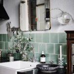 Küche Salbeigrün Neue Wohnfarbe Ein Kchenerobert Interior Welt Nzz Holz Modern Eckschrank Tapete Wasserhahn Led Beleuchtung Kleine Einbauküche Arbeitsplatte Wohnzimmer Küche Salbeigrün