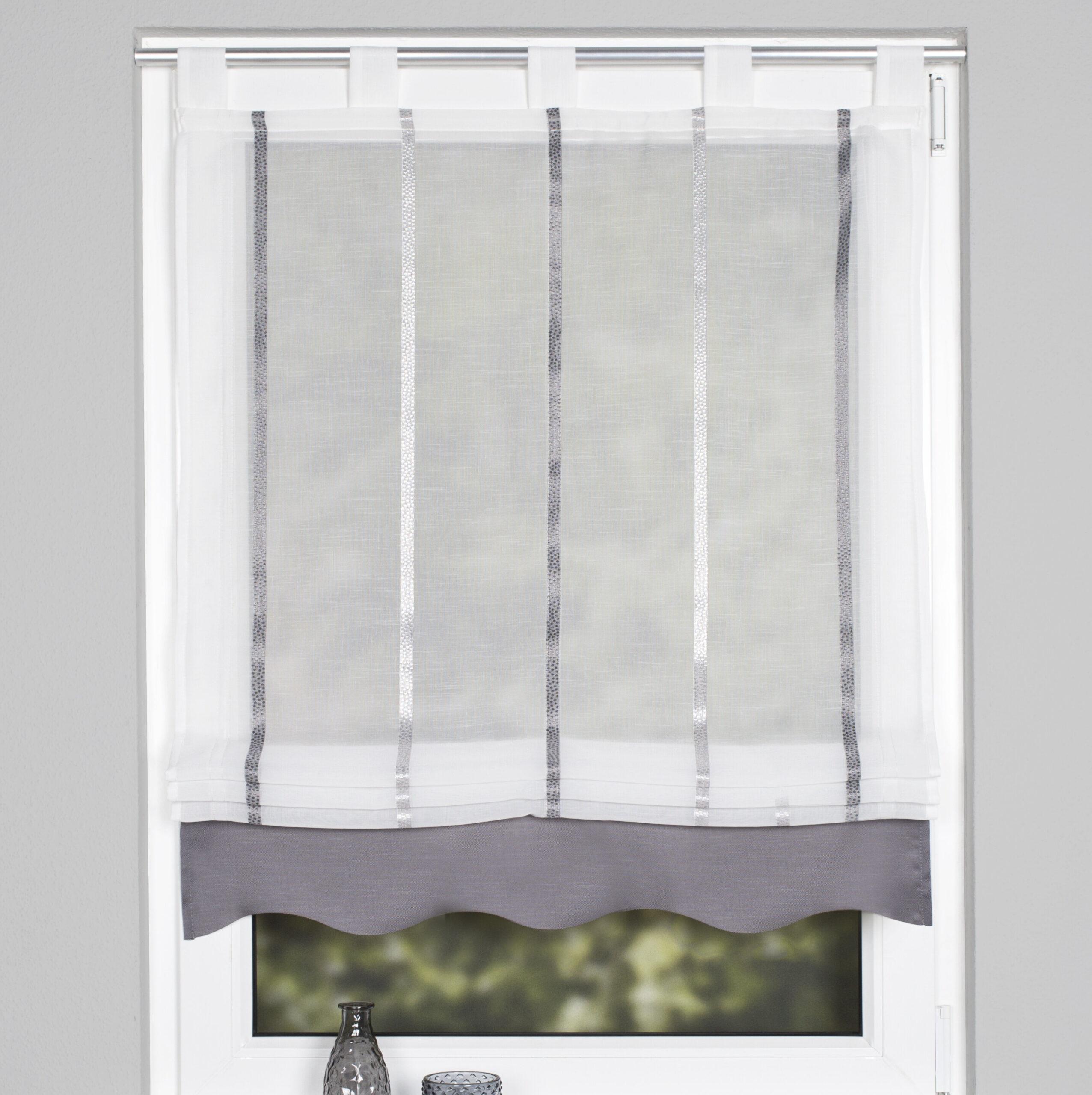 Full Size of Brambly Cottage Raffrollo Kathy Bewertungen Wayfairde Küche Wohnzimmer Raffrollo Küchenfenster