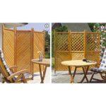 Outdoor Paravent Wohnzimmer Outdoor Paravent Klappbare Holz Paravents Promondo Garten Küche Edelstahl Kaufen