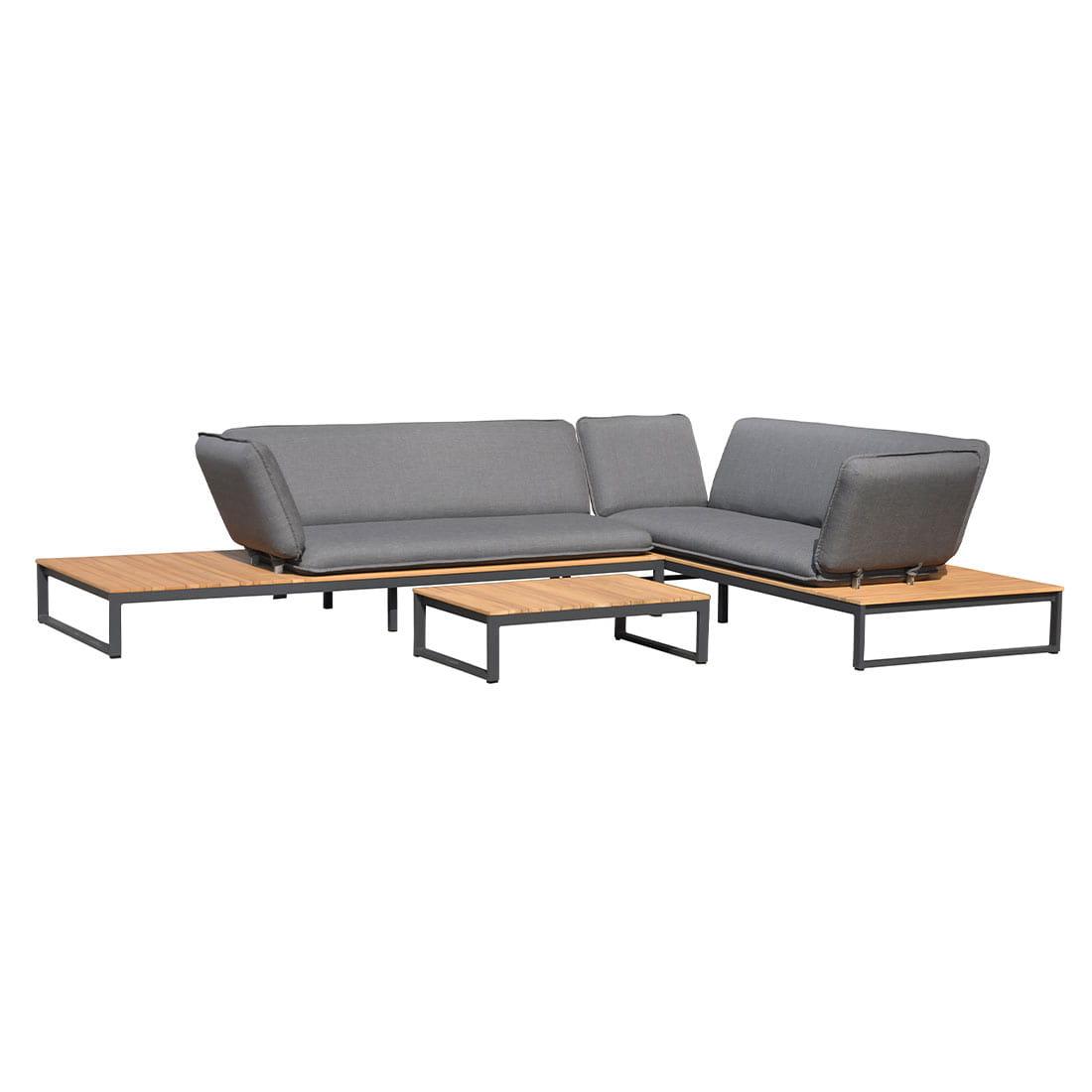 Full Size of Outliv Ancona Sofagruppe 3tlg Aluminium Teak Nanoteideen Und Garten Loungemöbel Günstig Holz Wohnzimmer Outliv Loungemöbel