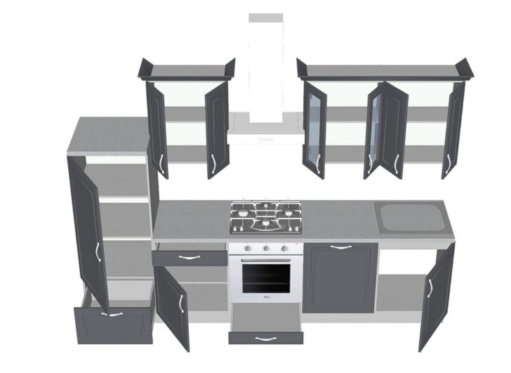 Medium Size of Miele Komplettküche Komplettkche Mit Gerten Billig Teppich Kchekomplettkche Küche Wohnzimmer Miele Komplettküche