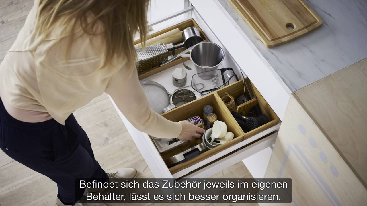 Full Size of Ikea So Organisierst Du Deine Kche Youtube Einbauküche Weiss Hochglanz Küche Günstig Mit Elektrogeräten Ohne Oberschränke Holzküche Miniküche Wandregal Wohnzimmer Voxtorp Küche Ikea