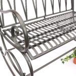 Gartenschaukel Metall Bett Regal Weiß Regale Wohnzimmer Gartenschaukel Metall