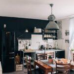 Küche Günstig Mit Elektrogeräten Bauen Was Kostet Eine Billig Bodenfliesen Bartisch Abfallbehälter Einbauküche Eiche Hell Spüle Singleküche E Geräten Wohnzimmer Küche Industrial Style